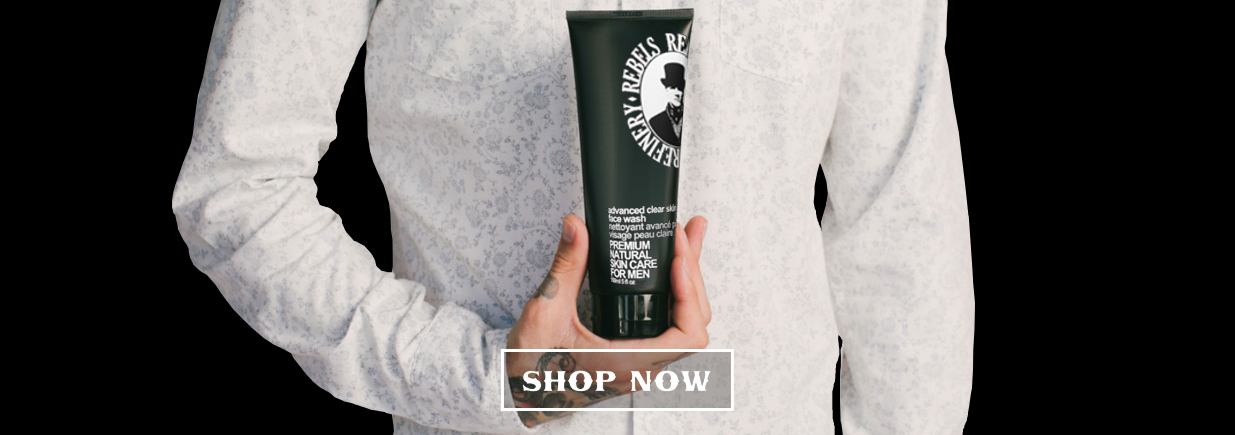 rebels refinery skin care - premium natural skincare for men and women - shop now