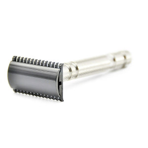 Here is the iKon Shave Craft B1 Deluxe Open Combs Safety Razor