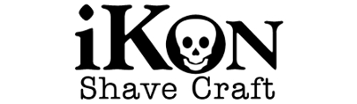 Logo of the iKon Shave Craft safety razor brand
