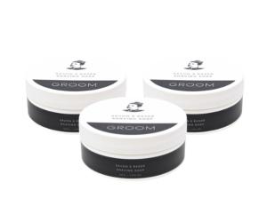3 Industries Groom Shaving soaps