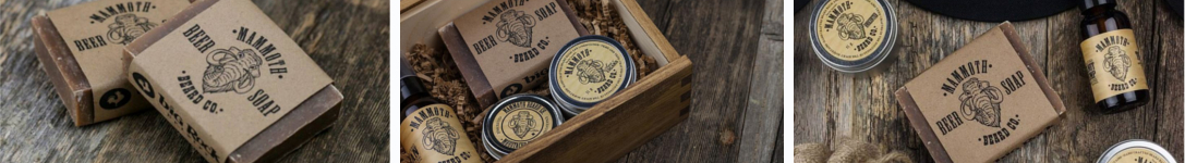 Featured image of the Mammoth Beard Co beard grooming products brand