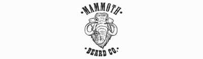 Logo of the Mammoth Beard Co beard grooming products brand