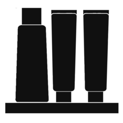 Icon for men's skincare products