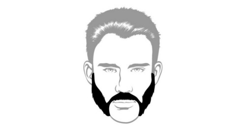 Here is the friendly mutton chops beard style