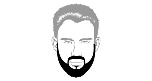 Here is the Full beard style