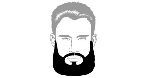 Here is the Garibaldi beard style