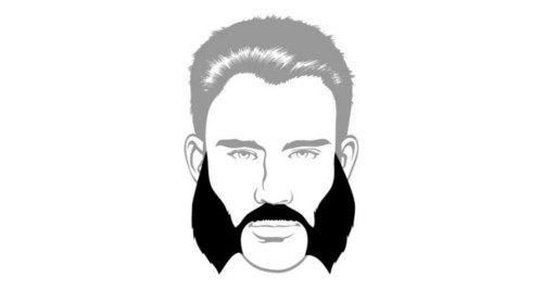 Here is the mutton chops beard style