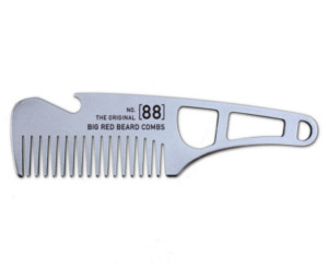 Big Red n° 88 Lite Stainless Steel Beard Comb