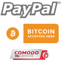 barbaware best beard-grooming-products paiment option: paypal fully secured payment + Now accepting Bitcoin + comodo ssl secured, pay with visa, mastercard, discover, american express, bank account.