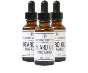 3 Peregrine Supply Park Ranger Beard oils