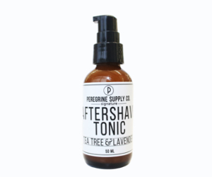 Peregrine Supply Tea Tree and Lavender Aftershave Tonic.