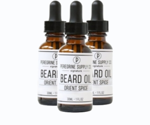 3 Peregrine Supply Orient Spice Beard oil