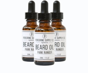 3 Peregrine Supply Park Ranger Beard oil