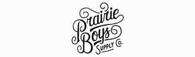 Prairie boys supply co. beard care & grooming brand logo