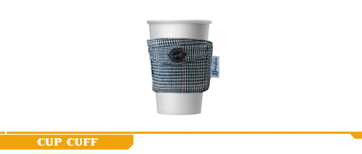 Here is the Cup Cuff The Professor cup cuff