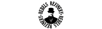 Rebels refinery men's grooming brand logo