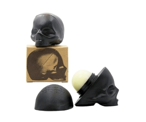 Here are 2 Rebels Refinery Capital Vices Skull Collection Superbia-Mint lip balms