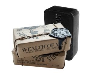 3 Rebels Refinery Black Wealth of Man Organic Oil Body Soap Bars