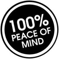 Custom image for barbaware 100% peace of mind buying