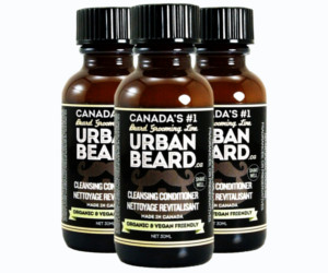 3 Urban Beard Beard Cleansing Conditioner