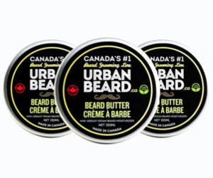 3 Urban Beard beard butter