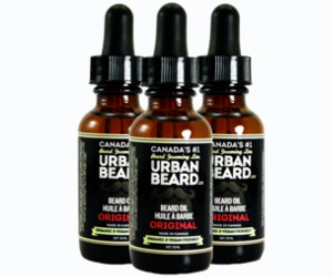 3 Huiles à barbe Original de Urban Beard