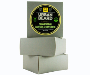 3 Urban Beard Beard Shampoo bars