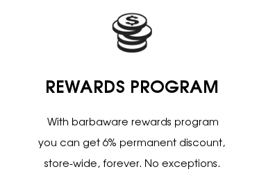 BEARD-KINGS REWARDS PROGRAM -Get 6% permanent discount, store-wide, forever.